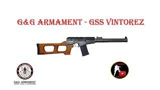 [ОБЗОР] G&G ARMAMENT - VSS VINTOREZ GSS AEG airsoft (страйкбол)