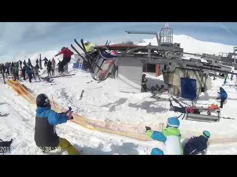 ski lift accident