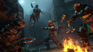 Middle-earth: Shadow of Mordor (FR) Gamplay and Captain's Killing Compilation ! (New Area)