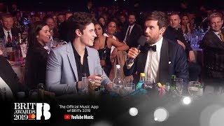 Jack Whitehall Interviews Shawn Mendes  The Brit Awards 2019