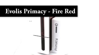 Video Evolis Primacy - Fire Red