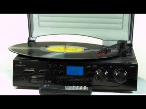 Auna TT-186E Stereoanlage Plattenspieler