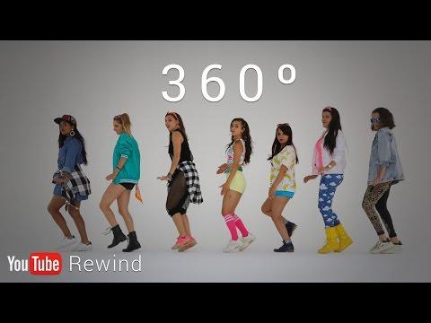YouTube Rewind 2016: Epic Group Running Man Challenge in 360° #YouTubeRewind