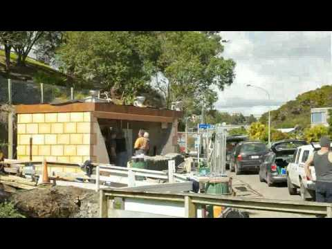 Time Lapse Video of Paihia Toilet Renovation