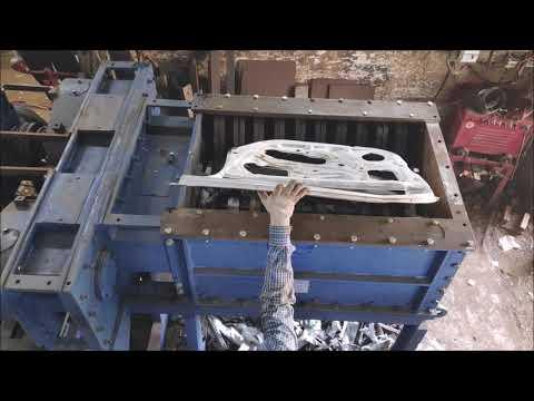 Metal Scrap Shredder Machine
