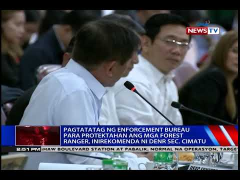 [GMA]  NTVL: Pagtatatag ng enforcement bureau para protektahan ang mga forest ranger, inirekomenda ni …
