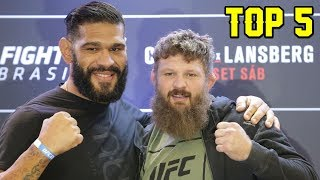 Top 5: Amigos que se enfrentaram no UFC