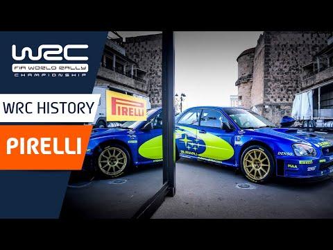 WRC ラリー・イタリア・サルディニア ピレリがラリーに挑んだ歴史をかたる動画