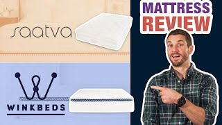 WinkBed vs Saatva | Mattress Review & Comparison (UPDATED)
