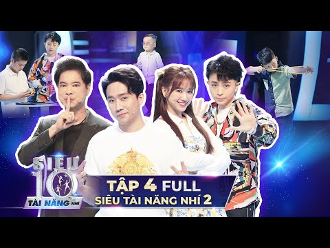 SIÊU TÀI NĂNG NHÍ 2 - TẬP 4 | Trấn Thành, Ngọc Sơn nhảy Michael Jackson cực dẻo với Siêu Nhí 4 Tuổi