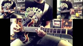 Wow - Prince Guitar And Bass Cover