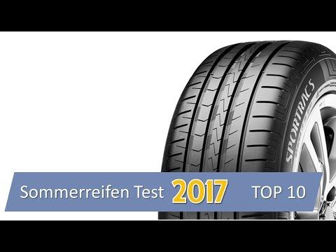 Sommerreifen Test 2017 - 195/65 R15 - TOP 10