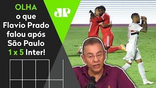 'São Paulo está indo para o lugarzinho dele', veja o que Flavio Prado falou