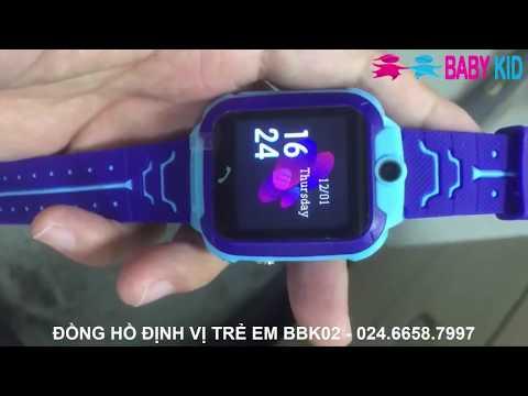 Đồng hồ định vị trẻ em BBK02
