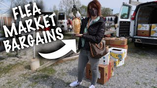 SO EXCITED! Flea Market Is OPEN | Shopping Bargains | Reselling