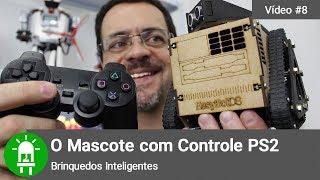 O Mascote Com Arduino Nano E Controle PS2
