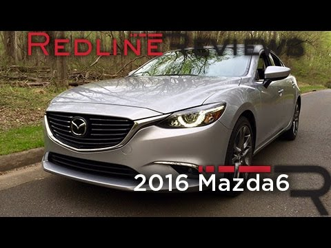 2016 Mazda Mazda6 – Redline: Review