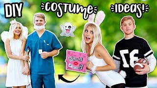 Easy DIY Couples Costumes! Last Minute Ideas! | Aspyn Ovard