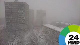 Восток Казахстана сковал 30-градусный мороз, занятия в школах отменили - МИР 24