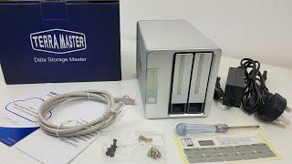 Ein Mini Home Server! Terra Master F2 210 Unboxing und Überprüfung