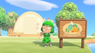 Using the Campsite in Animal Crossing New Horizons!