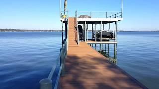 Cedar Creek Lake Boat House