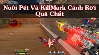 CF Legends : Trải Nghiệm Cây M4a1 Có Pet Trên Súng Killmark Cách Rơi
