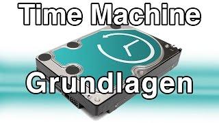 Time Machine Backup Grundlagen -  Mac Tutorial Deutsch