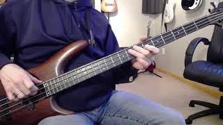 Carol Kaye How To Play Electric Bass Line 7