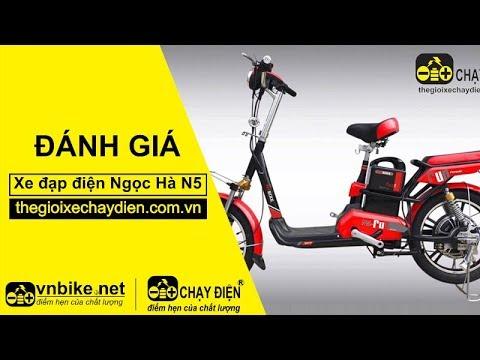 Đánh giá xe đạp điện Ngọc Hà N5