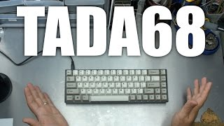 TADA68 Mechanical Keyboard unboxing and review