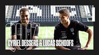 QUIZ ? | Cyriel Dessers & Lucas Schoofs
