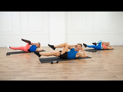25-Minute No-Plank Ab Workout With Jake DuPree