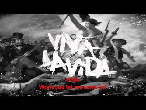 COLDPLAY & KYLIE MINOGUE lhuna lyrics