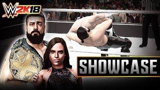 """WWE 2K18 Creations: Andrade """"Cien"""" ALMAS & Zelina VEGA (Xbox One)"""