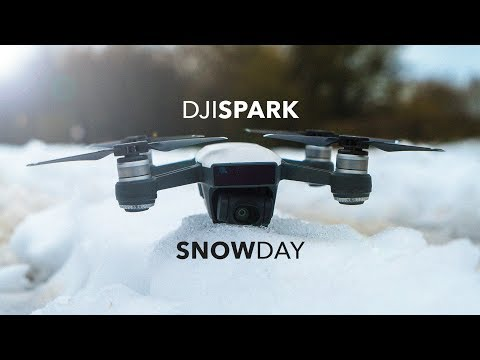 DJI SPARK / CAN IT FLY IN SNOW?