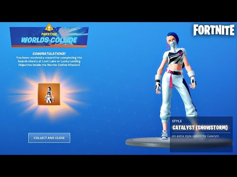 We Completed the Worlds Collide Mission Challenges! (Fortnite New Mission)