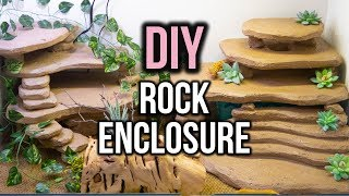 Building a DIY Leopard Gecko Rock Enclosure!
