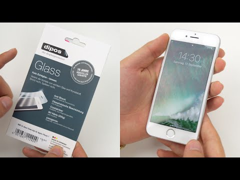 iPhone 7 Displayschutzfolie perfekt anbringen!