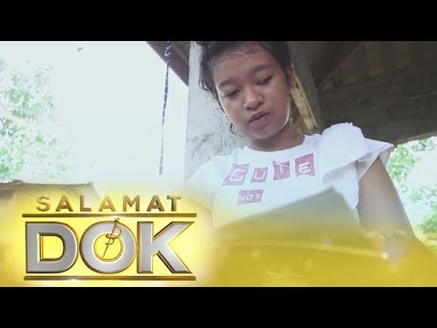 [ABS-CBN]  Salamat Dok: Jyraleam Villamarin suffers from an eye complication due to ptosis