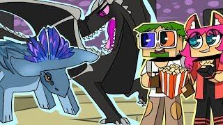 ч.38 МЕГА БИТВА!! Молотоголовый Против Дракона Энда!! - Minecraft Страшные приключения