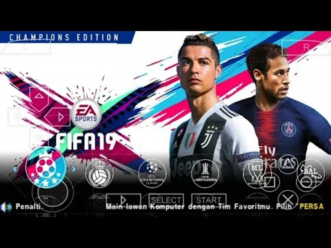 Fifa 19 Android Mod Pes 2019 PPSSPP Offline 700mb best graphics