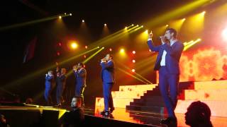 backstreet boys - vector arena new zealand 2015