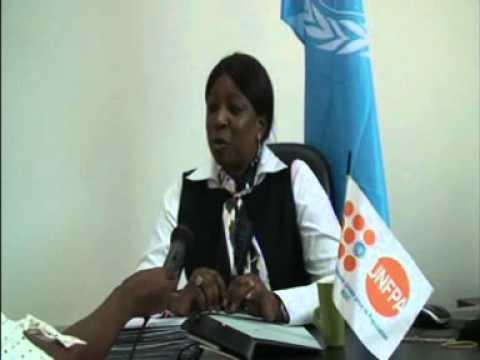 ACCREDITATION EN RDCONGO DE DIENE KEITA, REPRESENTANTE RESIDENTE DE UNFPA