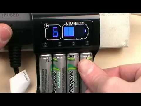 Energizer Intelligent AA/AAA CHP41 Recharge Accu Battery Charger review