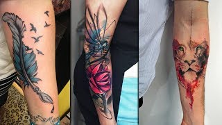 Coolest Colorful Fore Arm Tattoo Design For Girls | Tattoo Idea For Women | PhoeniX GuyzZ Fashions