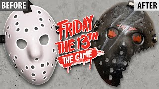 Making a Friday The 13th 2017 Video Game Hockey Mask
