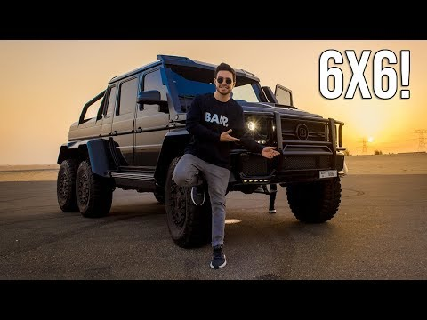 LA MEJOR CAMIONETA DEL MUNDO | MERCEDES G63 AMG BRABUS 6X6