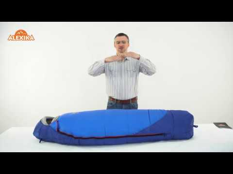 Смотреть видео Спальный мешок Alexika Mountain Child
