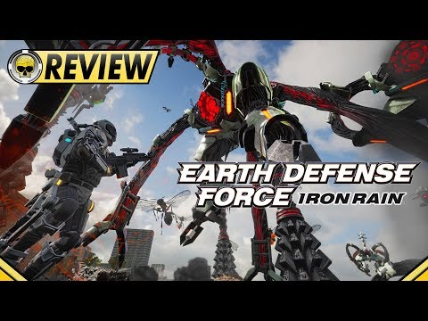 Earth Defense Force: Iron Rain – REVIEW (Therapeutic Extermination) video thumbnail